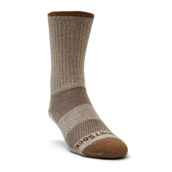 Adventure Crew Socks (khaki marl) - front angle