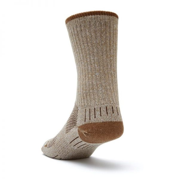 Adventure Crew Socks (khaki marl) - back angle