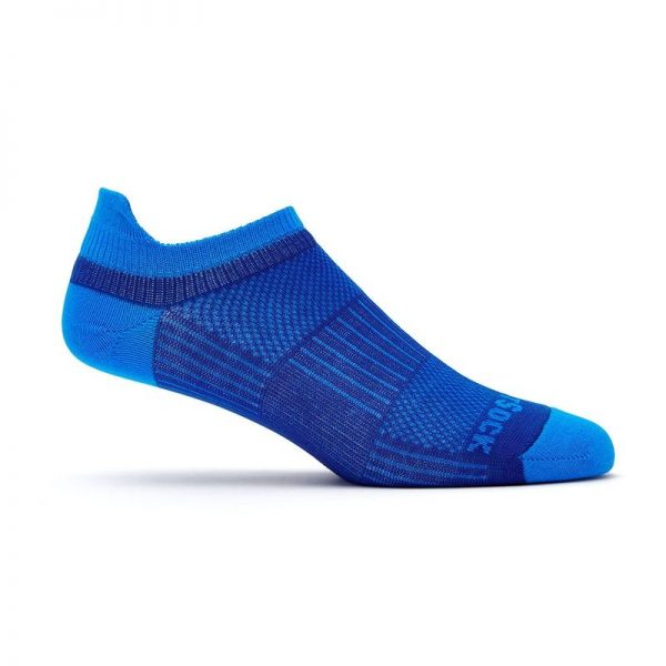 Coolmesh II Tab (ankle) Sock - blue side angle
