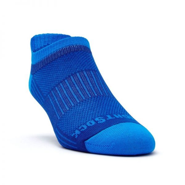 Coolmesh II Tab (ankle) Sock - blue front angle