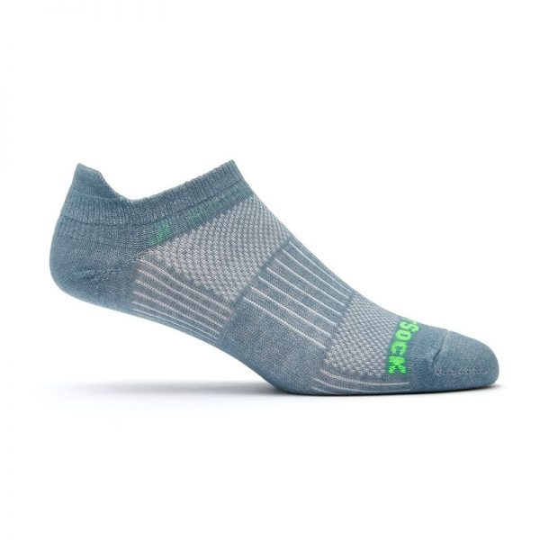 Coolmesh II Tab (ankle) Sock - grey side shot