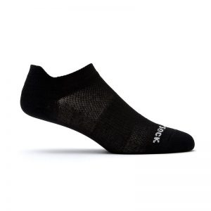 Coolmesh II Tab (ankle) socks - black side shot