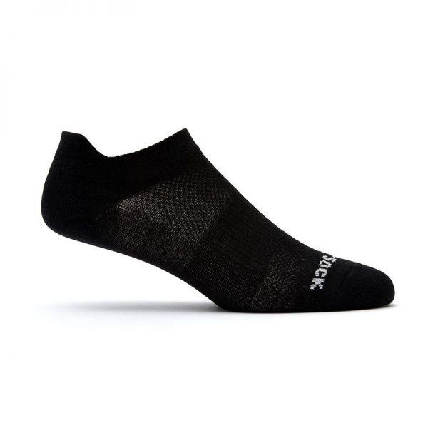 Coolmesh II Tab (ankle) socks - black side shot