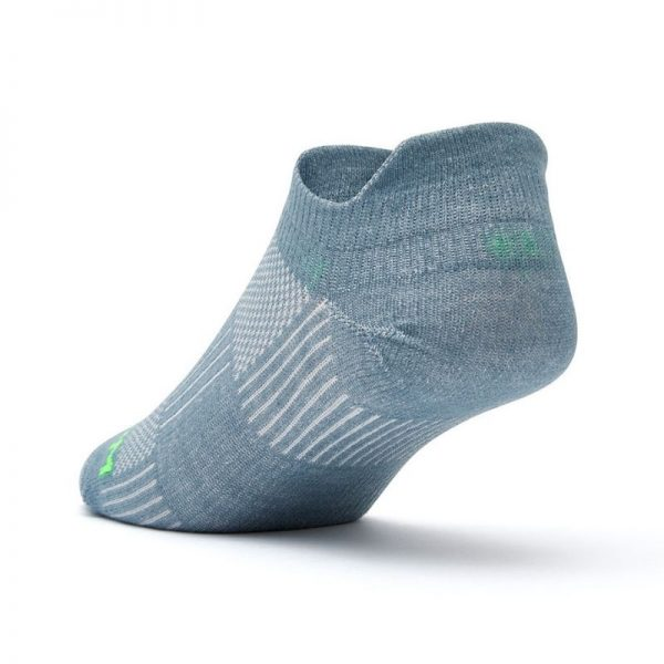 Coolmesh II Tab Sock (steel grey) - back angle