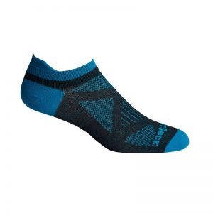 Coolmesh II Tab Womens Socks (black-turquoise)