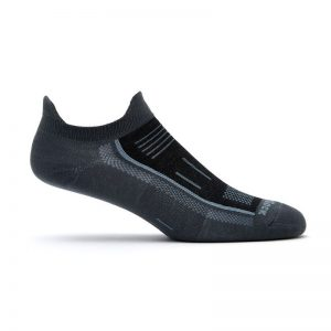 Endurance Double Tab Sock (ash black)