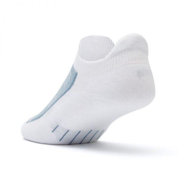 Endurance Double Tab Sock (white) - back angle