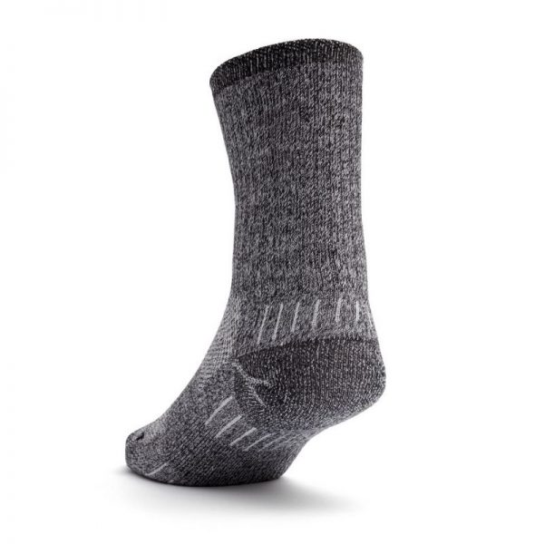 Escape Crew Sock (black twist) - back angle