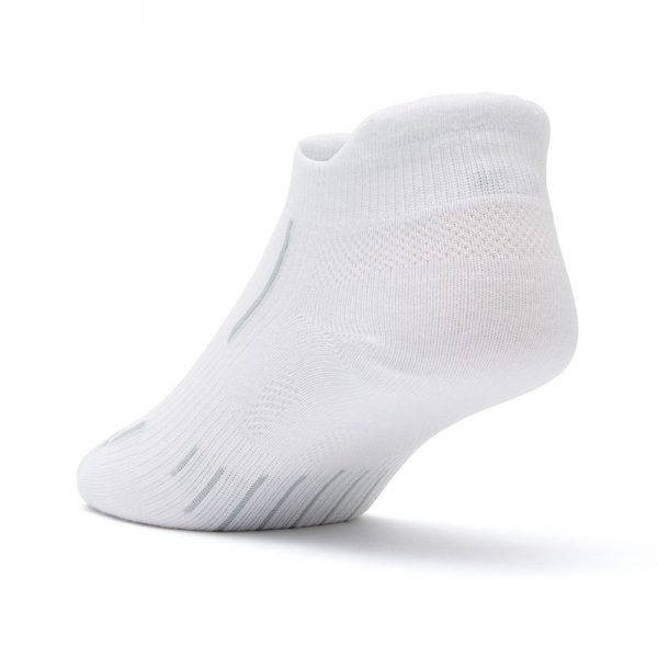 Stride Tab Socks (white) - back angle