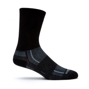 Stride Crew Sock (black)