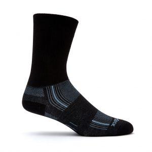 Stride Crew Sock (black)